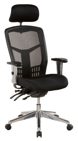 Oyster High Back Executive Chair
