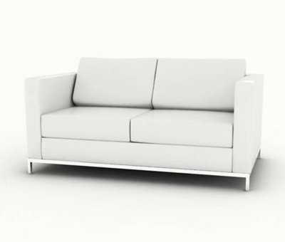 Blok Two Seater Arm Chair