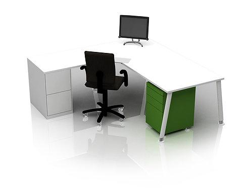 Leap Desk and Return