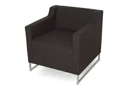 Dropp Single Seater Chair with Arms