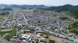 향토문화회관에서본 진도읍
