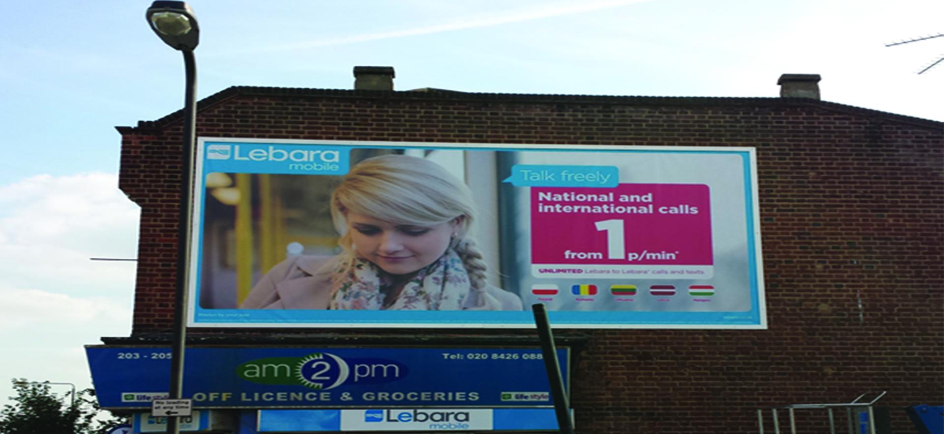 Lebara Billboard