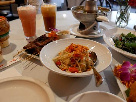 Papaya Salad, Tom Yum Soup, Angel Wings, and more in OKC