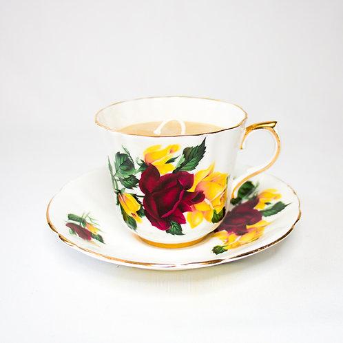 Bone China Tea Cup & Saucer