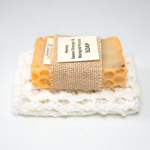 Soap and 100% Cotton Cloth