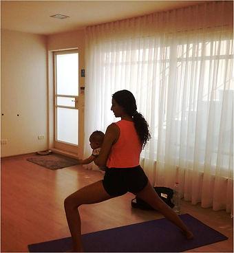 יוגה אחרי הלידה, יוגה לאמהות בחופשת לידה