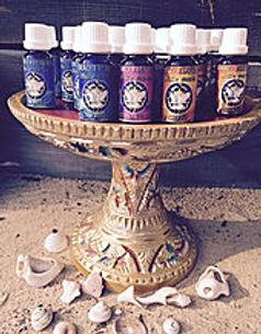 huiles sacrées d'onction