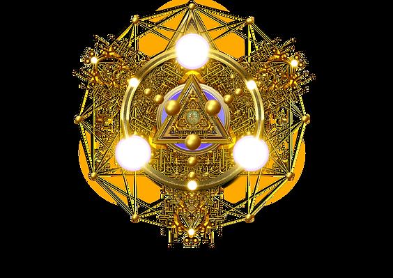 Logo codes de lumière du futur