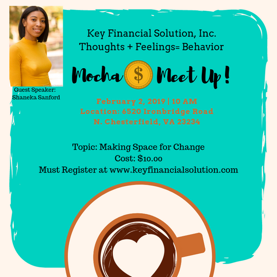 February Mocha Money Meet Up: Making Space for Change
