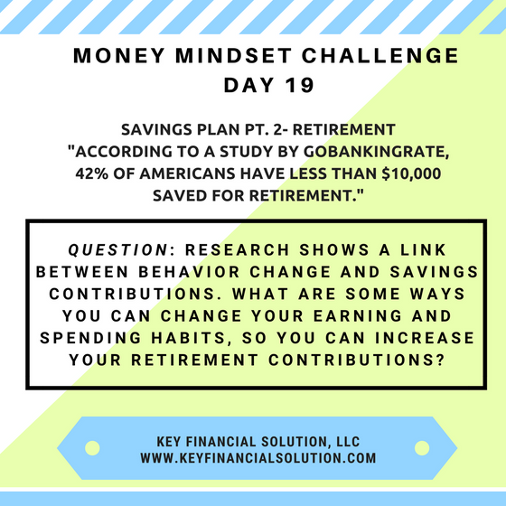 "Money Mindset Challenge Day 19: ""Retirement"""