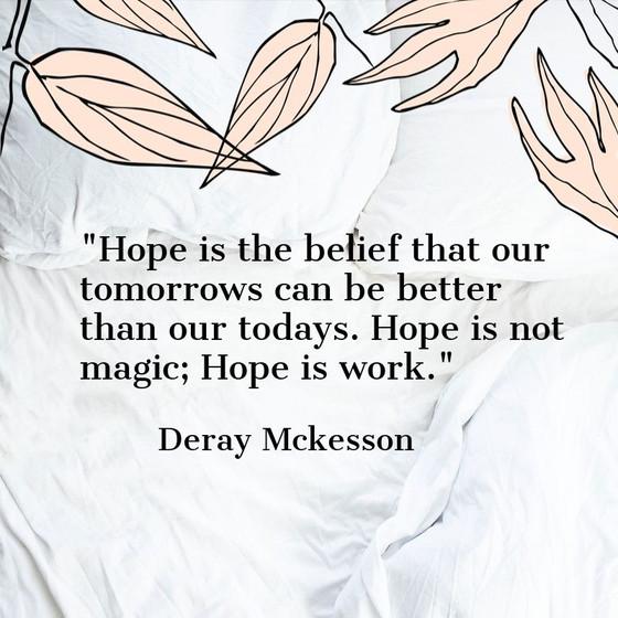 Wednesday's Wisdom: Hope
