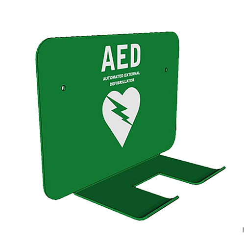 Wall Bracket for AED - Green