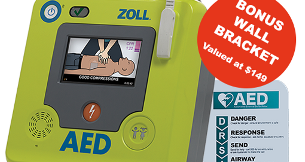 Zoll AED 3 Defibrillator Bundle