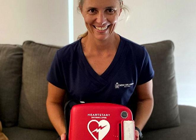 Womens decision to take defibrillator ho
