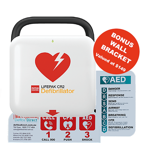LIFEPAK CR2 Wi-Fi Defibrillator Bundle