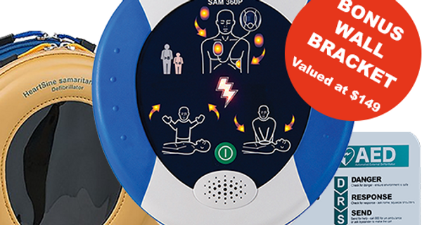 HeartSine 360P Defibrillator Bundle