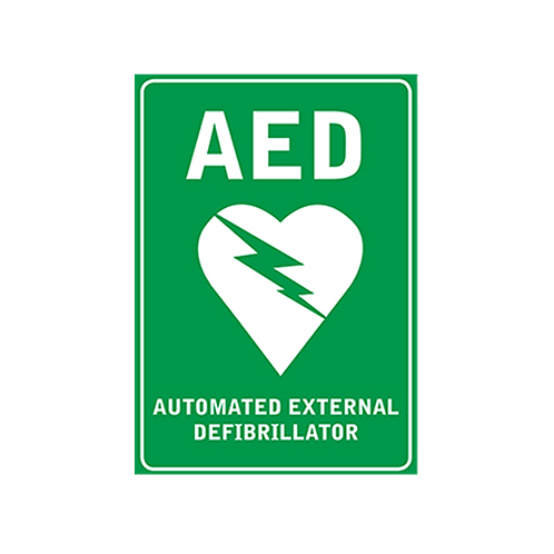 Sign - AED Wall Sign (Poly)
