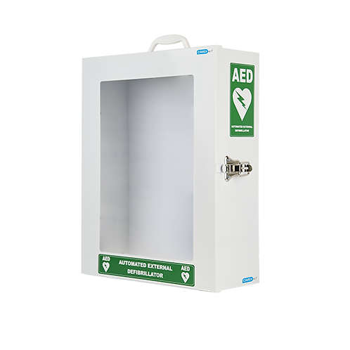 Defibrillator Cabinet - Standard with ARC approved signage