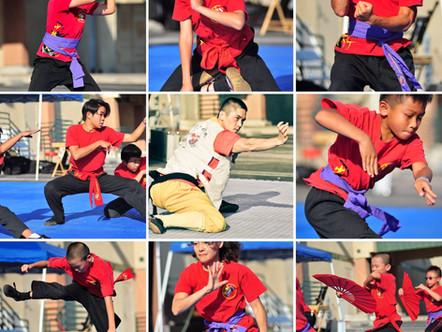 Shaolin Warrior Performance at Rancho Cucamonga