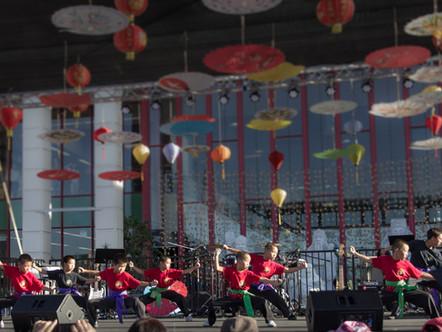 Shaolin Warrior Kungfu Performance in Garden Grove