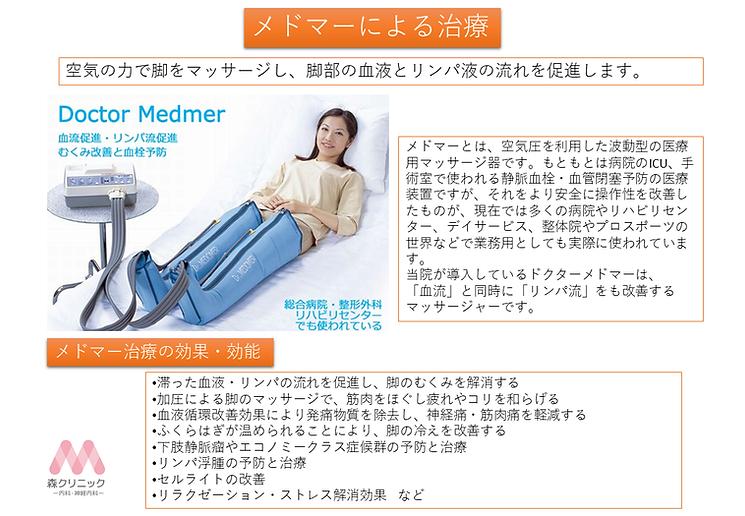 メドマーによる治療