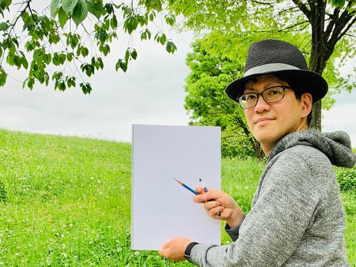 日本画のためのスケッチ 厳選の道具