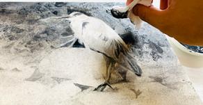 日本画 鳥 描き方