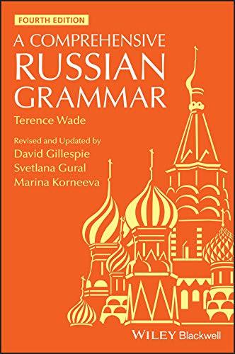 Russian grammar book | Learn Russian fast