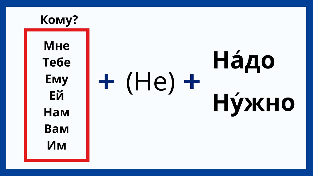 Difference between надо and нужно in Russian