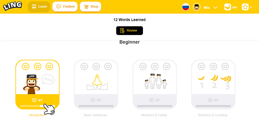 learn languages app