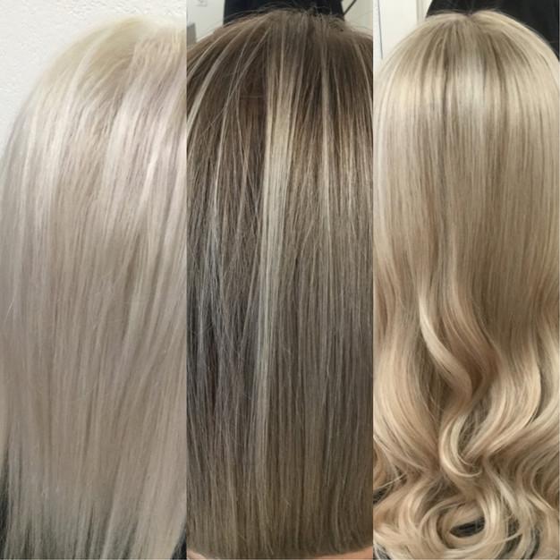 blond meches str hnen blonde highlights in z rich perfektblond. Black Bedroom Furniture Sets. Home Design Ideas