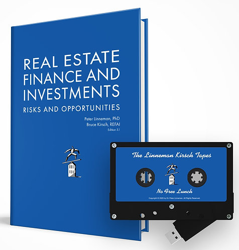 Real Estate Finance and Investments and No Free Lunch Lectures