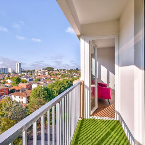 PROJET LE BOUSCAT - Balcon APRES