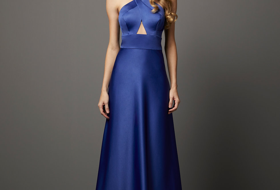 Vestido de Aluguel Liso P13302 PT