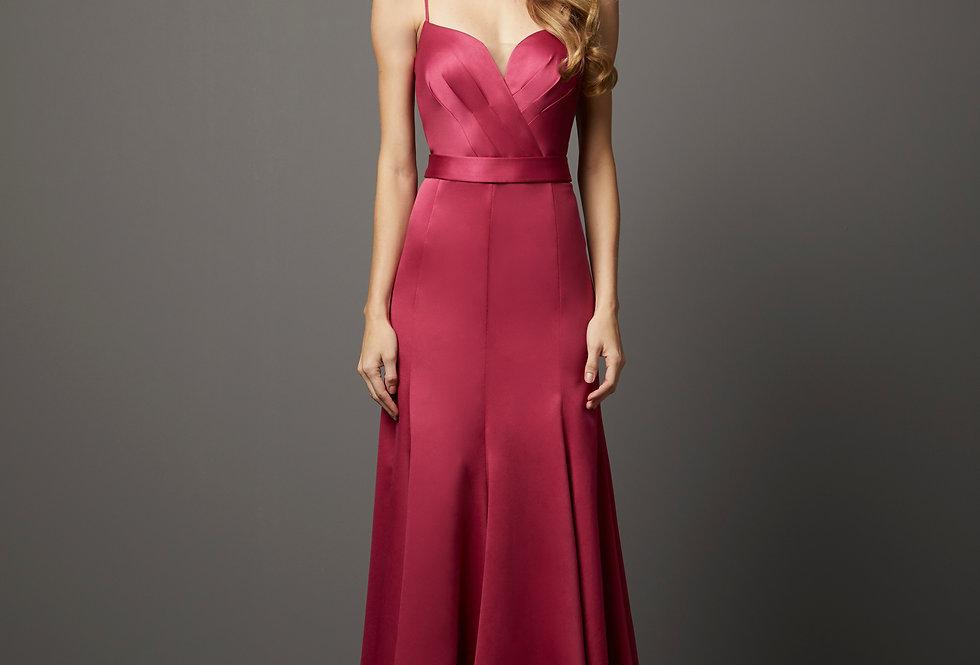Vestido de Aluguel Liso P13262 PT