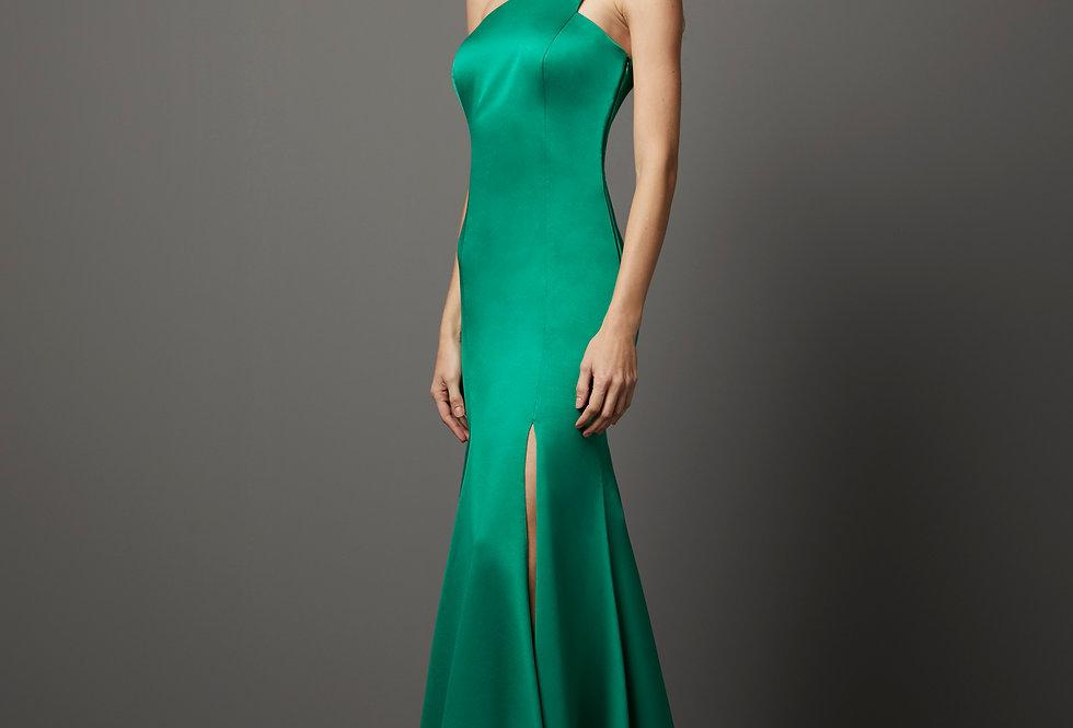 Vestido de Aluguel Liso P13285 PT