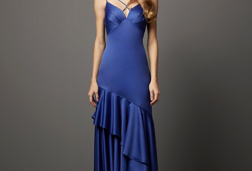 Vestido de Aluguel Liso P13260 PT