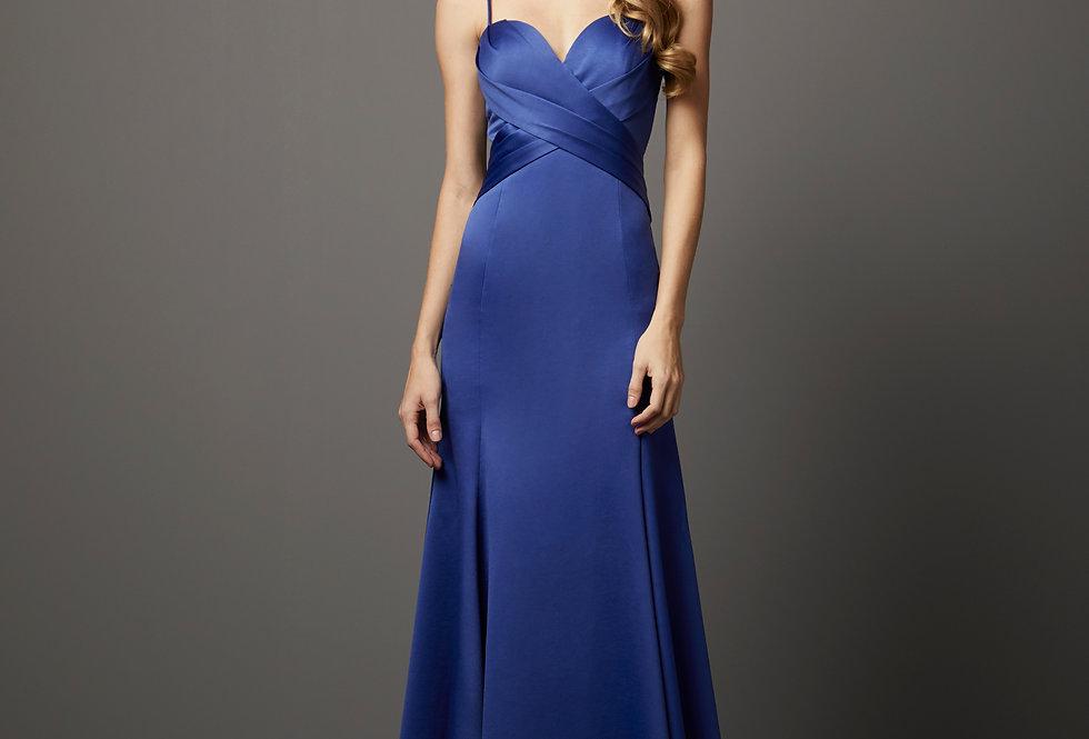 Vestido de Aluguel Liso P13259 PT