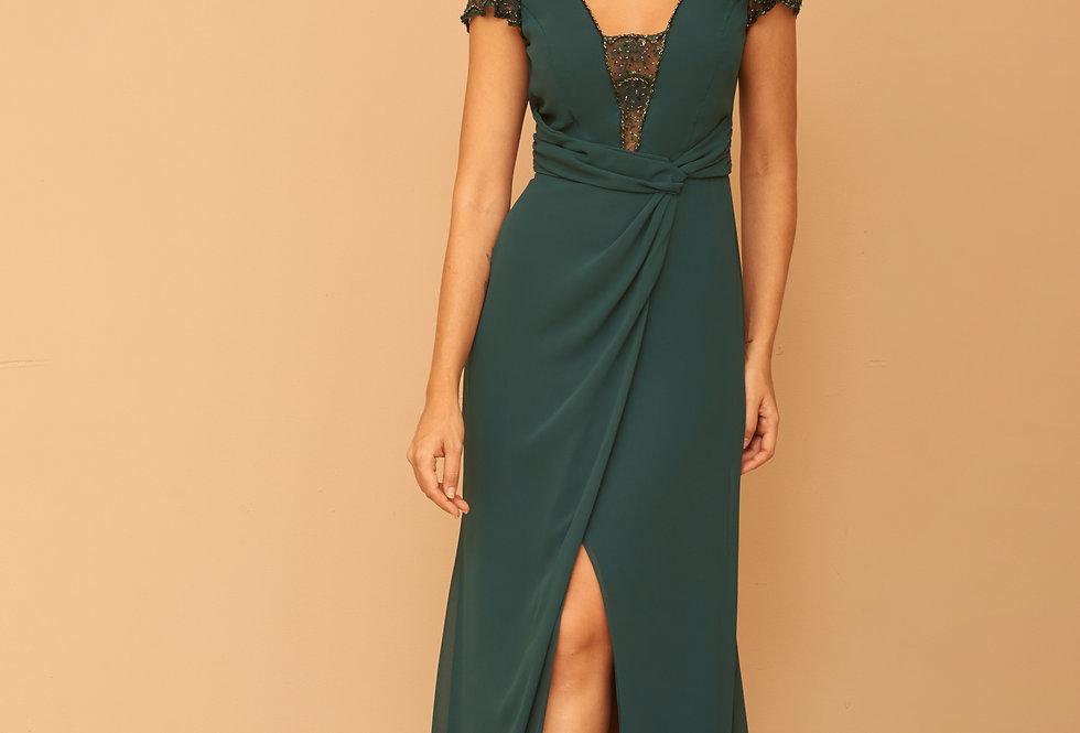 Vestido de Aluguel Longo Liso Verde VE 832 SH 42.jpg