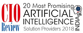 Top 20 Artificial Intelligence Solution Providers 2018
