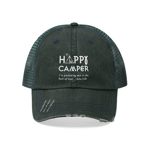 Happy Camper Unisex Trucker Hat