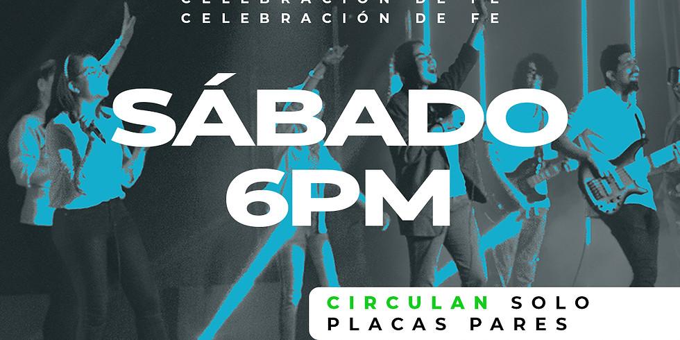 Celebración de Fe: Sábado 9 de Enero - 6:00PM