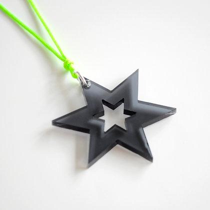 Star/star | grøn/sort