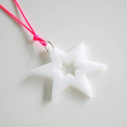 Star/star | pink/hvid