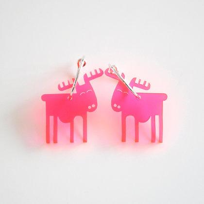 Reindeer | ø15 sølv/pink