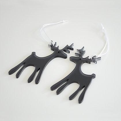 Reindeer   hvid/sort