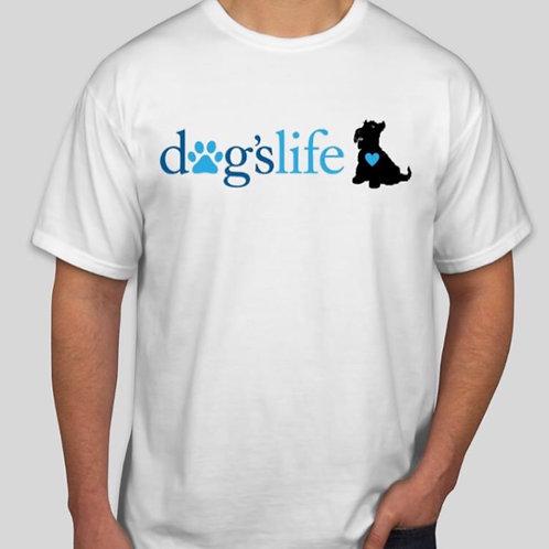dogslife Short Sleeve T-Shirt (White)