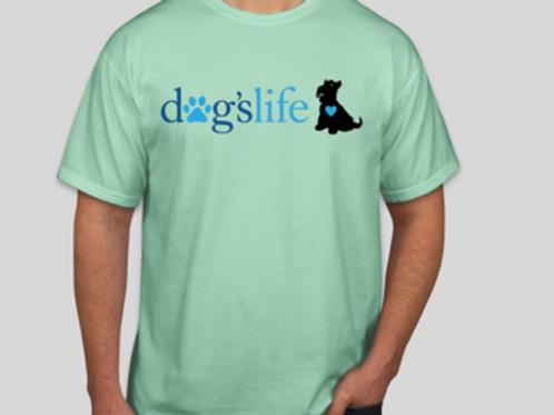 dogslife Short Sleeve T-Shirt (Mint)