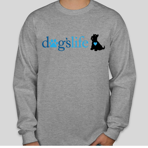 dogslife Long Sleeve T-Shirt (Grey)