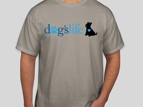 dogslife Short Sleeve T-Shirt (Grey)